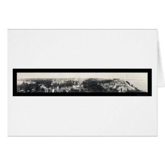 US Navy Hampton Roads Photo 1919 Card
