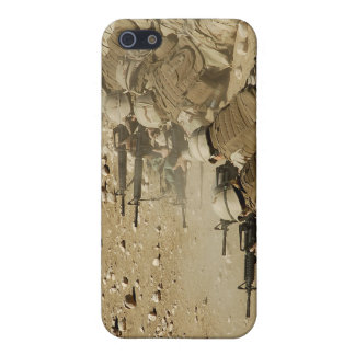 US Navy Seabees fire M-4 and M-16A2 rifles iPhone 5 Case