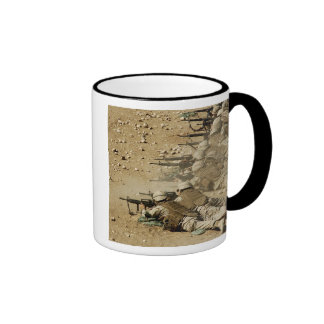 US Navy Seabees fire M-4 and M-16A2 rifles Mugs