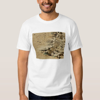 US Navy Seabees fire M-4 and M-16A2 rifles T-shirt