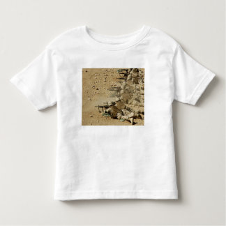 US Navy Seabees fire M-4 and M-16A2 rifles Toddler T-shirt