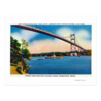 US Navy Vessel Postcard