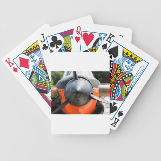 US Navy World War II T-34 Mentor Trainer Aircraft Bicycle Playing Cards