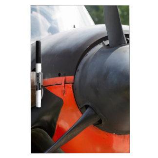 US Navy World War II T-34 Mentor Trainer Aircraft Dry-Erase Board
