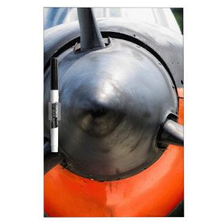 US Navy World War II T-34 Mentor Trainer Aircraft Dry Erase Board