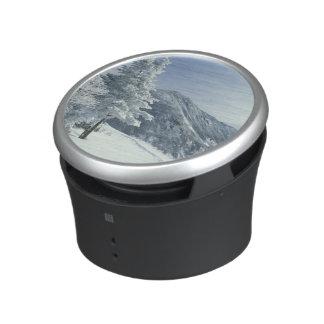 US, NH, Snow covered trees Trails Snoeshoe Bluetooth Speaker