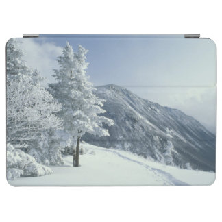 US, NH, Snow covered trees Trails Snoeshoe iPad Air Cover