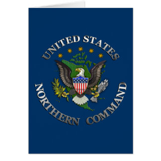 US Northern Command Card