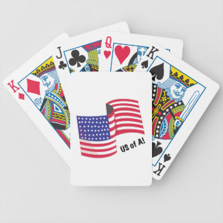 US Of A Bicycle Playing Cards