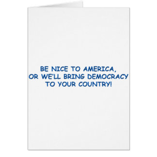 us of A Greeting Card