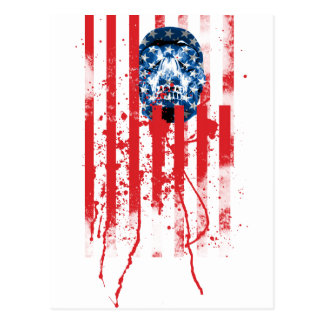US of A Postcard