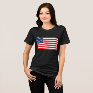 US of L Flag - Women's T-Shirt (Black)