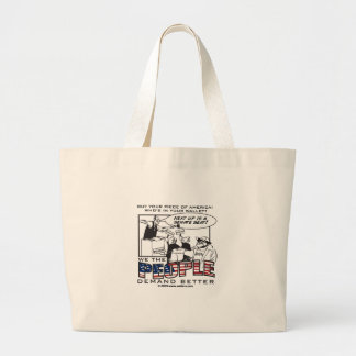 US Offices for sale! Jumbo Tote Bag