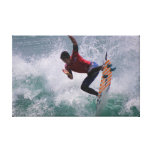 US Open 2012 Surfer Stretched Canvas Print