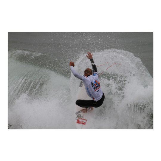 US OPEN of SURFING  2011 Poster