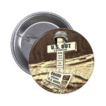 US OUT of WAR 2 Inch Round Button