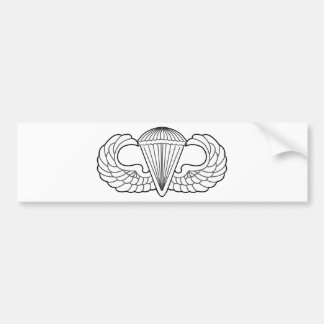 US Para Swipes in Bumper Sticker