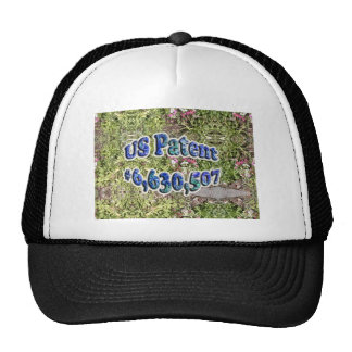 US Patent #6,630,507 Hat