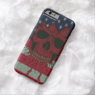 US Patriotic Headbone Basketball Ball Skin Barely There iPhone 6 Case