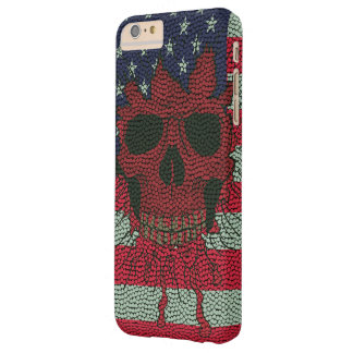 US Patriotic Headbone Basketball Ball Skin Barely There iPhone 6 Plus Case