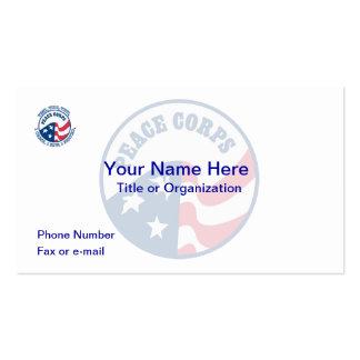 US Peace Corps Logo Business Card