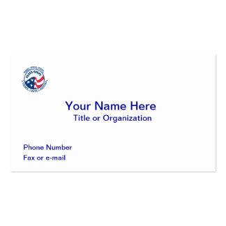 US Peace Corps VVV Business Card