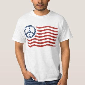 US Peace Flag T-Shirt