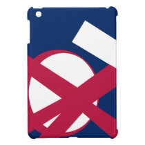 US portal right blue iPad Mini Cover
