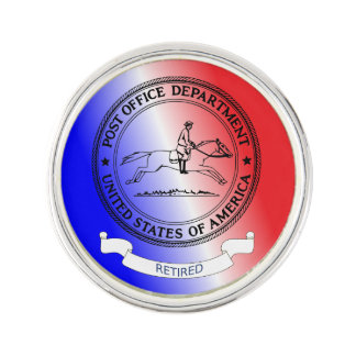 US Post Office Department Retired Lapel Pin