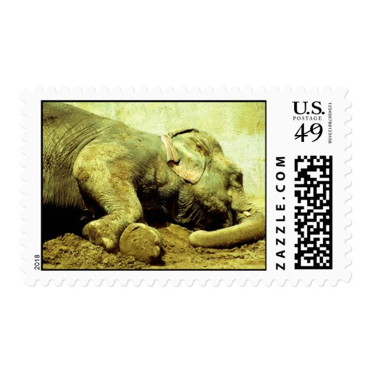 US Postage - Asian Elephants