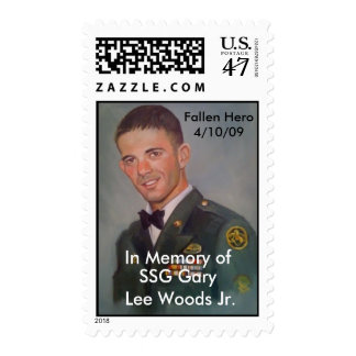 US Postage Gary Lee Woods Jr.