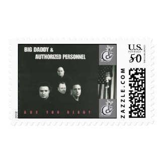 """US Postage Stamp - """"Are You Ready"""" (Sheet of 20!)"""