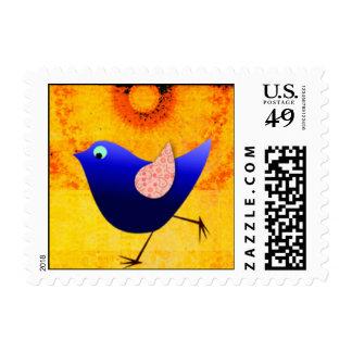 US Postage Stamp: Crazy Funk Bird
