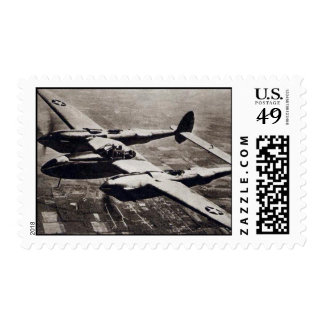 US Postage Stamp - Lockheed Lightning
