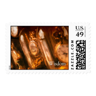US Postage Stamp of Clock Collection