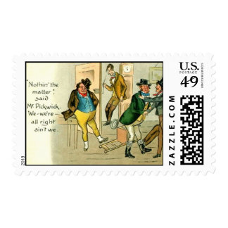 """US Postage Stamp - """"Pickwick Papers"""""""