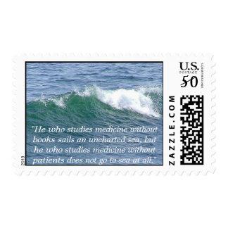 US postage stamp with medicine theme