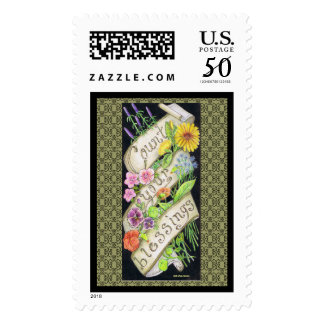 US postage stamps/  Artist Sally Coupe Jacobson