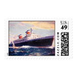 US Postage Stamps - SS United States