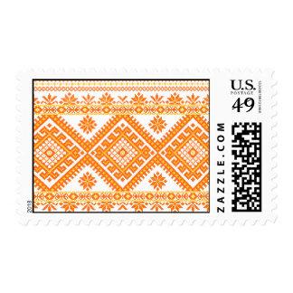 US Postage Ukrainian Embroidery Print