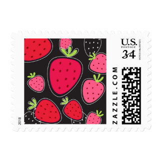 US poststamp with Strawberries Postage