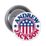 US President Andrew Jackson 2 Inch Round Button