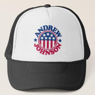 US President Andrew Johnson Trucker Hat