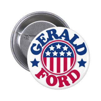 US President Gerald Ford Button