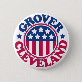 US President Grover Cleveland Pinback Button