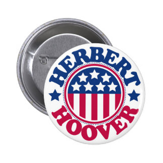 US President Herbert Hoover 2 Inch Round Button