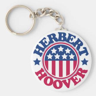 US President Herbert Hoover Key Chains