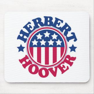 US President Herbert Hoover Mouse Mat