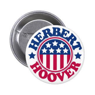 US President Herbert Hoover Pin