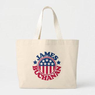 US President James Buchanan Tote Bags